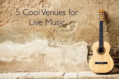 Live Music Venues