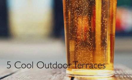 Outdoor terraces
